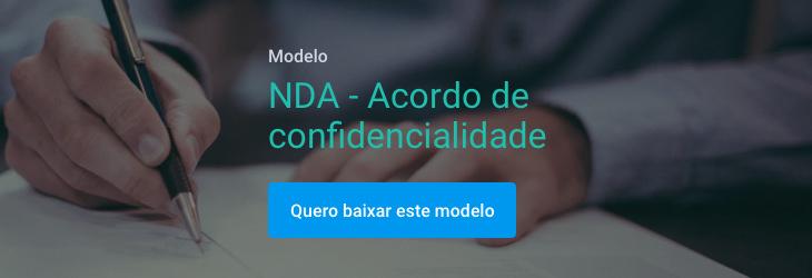 Banner NDA - Acordo de confidencialidade