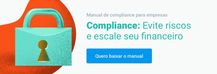 Banner Manual de compliance para empresas:  Evite riscos e escale o setor financeiro